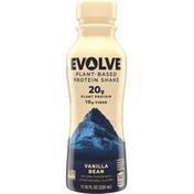 Evolve Protein Shake, Plant-Based, Vanilla Bean