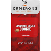 Camerons Coffee, Ground, Light Roast, Cinnamon Sugar Cookie