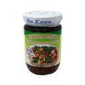 Por Kwan Chilli Paste With Holy Basil Leaves