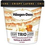 Haagen-Dazs Crispy Trio Layers Vanilla & Caramel Ice Cream