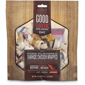 Good Lovin' Assorted Natural Flavor Rawhide Dog Bone