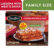 Stouffer's Family Size Lasagna with Meat & Sauce Frozen Meal