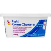 SB Cream Cheese, Light, Soft