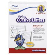 Mead Dry Erase Tablet, Cursive Letters, Transitional Stage 4