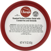 Ukrops Roasted Pulled Chicken Salad with Cranberries and Almonds