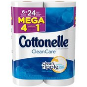 Cottonelle CleanCare Mega Roll Toilet Paper