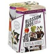 Blossom Bros Wine Spritzer, White Peach & Jasmine Flower