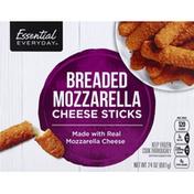 Essential Everyday Mozzarella Cheese Sticks, Breaded