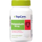TopCare Potassium, 99 mg, Caplets