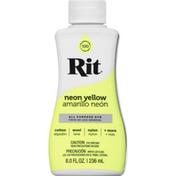 Rit All Purpose Dye, Neon Yellow