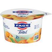 Fage Milkfat Greek Strained Yogurt with Peach