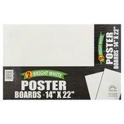 Norcom Poster Boards, Bright White