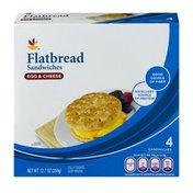 SB Flatbread Sandwiches Egg & Cheese - 4 CT
