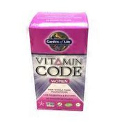 Garden of Life Vitamin Code Women's Multivitamin Vegetarian Capsules