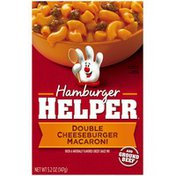 Betty Crocker Double Cheeseburger Macaroni Hamburger Helper
