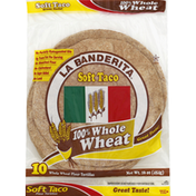 La Banderita Tortillas, Whole Wheat Flour