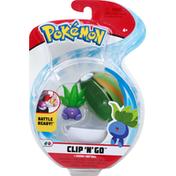 Jazwares Oddish + Nest Ball, Pokeman, Clip 'N' Go, 4+