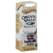 Organic Valley Milk, Lowfat, 1% Milkfat, Vanilla