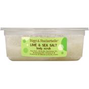 Biggs & Featherbelle Body Scrub, Lime & Sea Salt