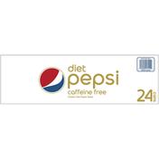 Pepsi Caffeine Free Diet Cola Soda