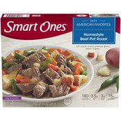 Smart Ones Homestyle Beef Pot Roast with Carrots, Onions, Potatoes, Green Beans & Gravy Frozen Meal
