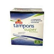 ShopRite Super Absorbency Unscented Tampons