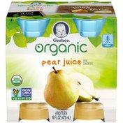 Gerber Organic Pear Juice