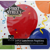 First Street Luncheon Napkins, 3-Ply