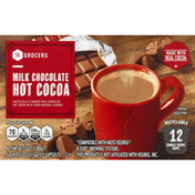 Southeastern Grocers Hot Cocoa, Milk Chocolate, Cups