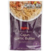Hy-Vee Cajun Garlic Butter Rice & Pasta Blend With Garlic, Butter & Mild Cajun Spices