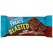 Kellogg's Rice Krispies Treats Blasted Double Chocolatey Chunk Crispy Marshmallow Squares