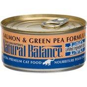 Natural Balance Salmon & Green Pea Formula, Cat Food