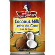 Madame Gougousse Coconut Milk