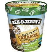 Ben & Jerry's Non-dairy Chocolate Caramel Cluster Frozen Dessert