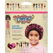 Camryns BFF Bonnet, Satin, Assorted Colors