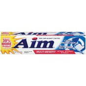 Aim Multi-Benefit Cavity Protection Ultra Mint Toothpaste