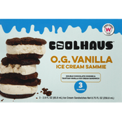 Coolhaus Ice Cream Sammies, O.G. Vanilla
