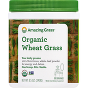 Amazing Grass Wheat Grass, Organic