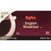 Hy-Vee Black Tea, English Breakfast, Tea Bags