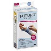FUTURO Wrist Support, Slim Silhouette, Moderate Stabilizing Support, Left Hand, ADJ/Adjustable