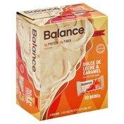 Balance Bar Nutrition Bar, Dulce de Leche & Caramel, Minis