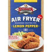 Louisiana Fish Fry Products Seasoned Coating Mix, Lemon Pepper
