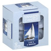 Yankee Candle Tea Lights, Scented, Life's a Breeze
