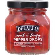 DeLallo Pepper Drops, Sweet n' Tangy