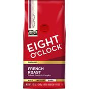 Eight O'Clock Coffee French Roast Dark Ground Coffee
