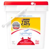 Purina Tidy Cats Light Weight, Low Dust, Clumping Cat Litter, LightWeight 24/7 Performance Multi Cat Litter