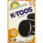 Kinnikinnick Foods Cookies, Sandwich Creme, Chocolate