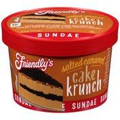 Friendly's Salted Caramel Cake Crunch Ice Cream