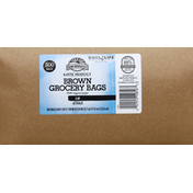 Sun Harvest Grocery Bags, Brown, 4 Pound