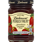 Dickinson's Purely Fruit Strawberry Spreadable Fruit